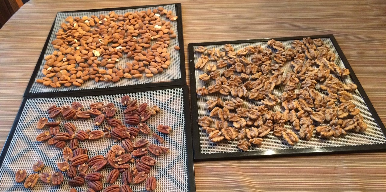 soaking nuts